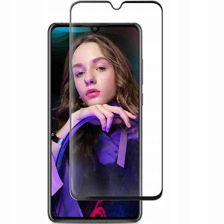 Huawei P30 Lite hartowane szkło 5D Full Glue - Czarny