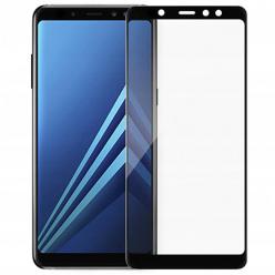 Galaxy J6 Plus hartowane szkło 5D Full Glue - Czarny