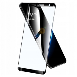 Samsung Galaxy A6 2018 hartowane szkło 5D Full Glue - Czarny