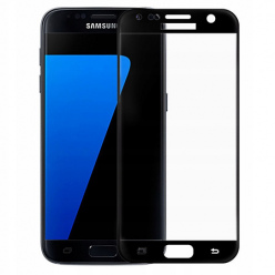 Galaxy S7 hartowane szkło 5D Full Glue - Czarny