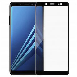 Galaxy J6 2018 hartowane szkło 5D Full Glue - Czarny