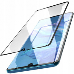 Huawei Y6 2019 hartowane szkło 5D Full Glue - Czarny