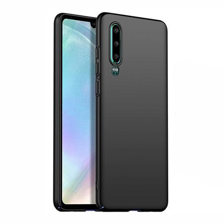 Etui na telefon Huawei P30 - Slim MattE - Czarny.