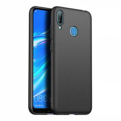 Etui na telefon Huawei Y7 2019 - Slim MattE - Czarny.