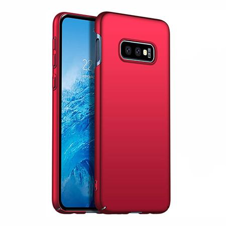 Etui na telefon Samsung Galaxy S10e - Slim MattE - Czerwony.