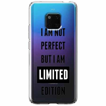 Etui na Huawei Mate 20 Pro - I Am not perfect…