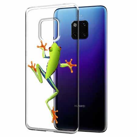 Etui na Huawei Mate 20 Pro - Zielona żabka.