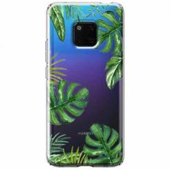 Etui na Huawei Mate 20 Pro - Zielone liście palmowca