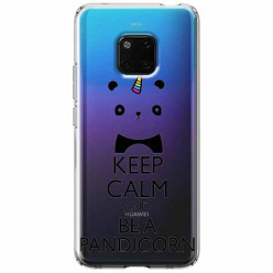 Etui na Huawei Mate 20 Pro - Keep Calm… Pandicorn.