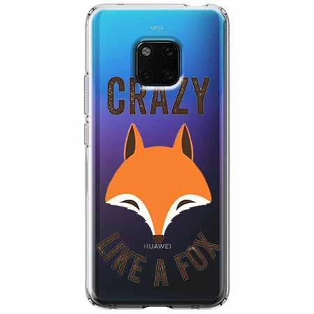 Etui na Huawei Mate 20 Pro - Crazy like a fox.