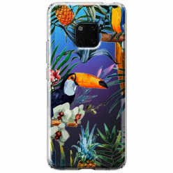Etui na Huawei Mate 20 Pro - Egzotyczne tukany.
