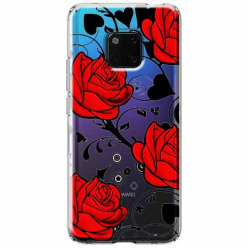 Etui na Huawei Mate 20 Pro - Czerwone róże.