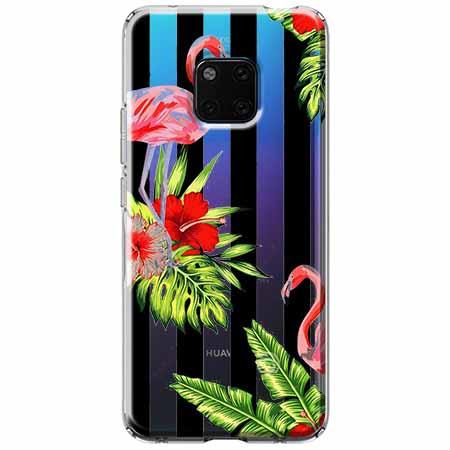 Etui na Huawei Mate 20 Pro - Opowieści flamingów.