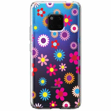 Etui na Huawei Mate 20 Pro - Kolorowe stokrotki.