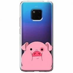 Etui na Huawei Mate 20 Pro - Słodka różowa świnka.