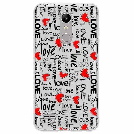 Etui na LG K10 2018 - Love, love, love…