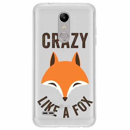 Etui na LG K10 2018 - Crazy like a fox.