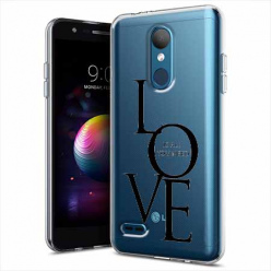 Etui na LG K10 2018 - All you need is LOVE.