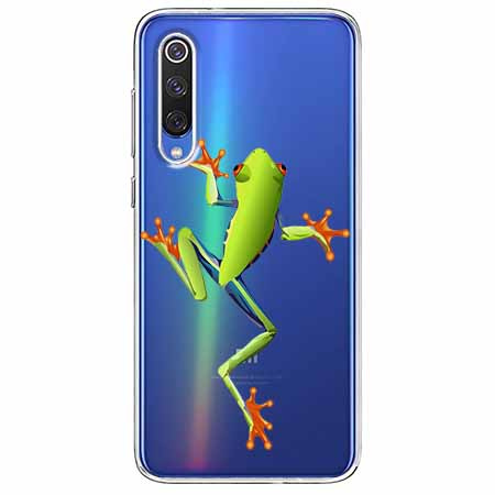 Etui na Xiaomi Mi 9 - Zielona żabka.