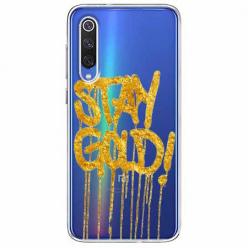 Etui na Xiaomi Mi 9 - Stay Gold.