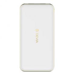 Devia Power bank przenośna bateria 10 000 mAh - Biały