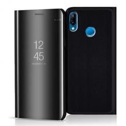 Etui na Huawei P20 Lite - Flip Clear View z klapką - Czarny.