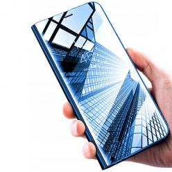 Etui na Samsung Galaxy S9 Plus - Flip Clear View z klapką - Niebieskie