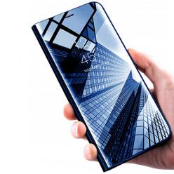 Etui na Galaxy S8 Plus Clear View z klapką - Granatowy