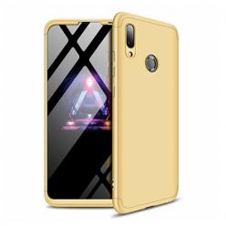 Etui na telefon Huawei Y7 2019 - Slim MattE 360 - Złoty.