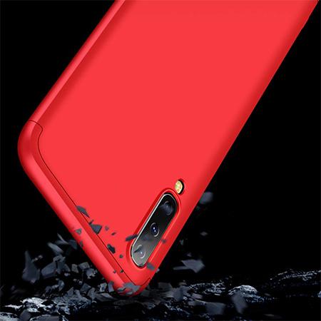Etui na telefon Samsung Galaxy A50 - Slim MattE 360 - Czerwony.