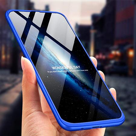 Etui na telefon Samsung Galaxy A50 - Slim MattE 360 - Niebieski.