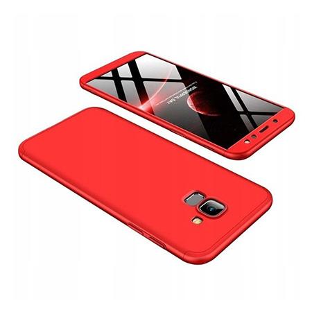 Etui na telefon Samsung Galaxy A6 2018 - Slim MattE 360 - Czerwony.