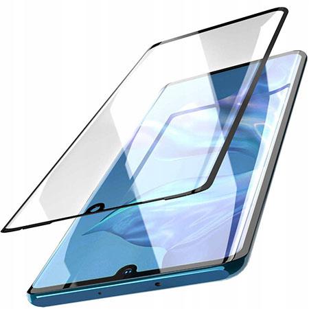 Galaxy A20e hartowane szkło 5D Full Glue - Czarny.