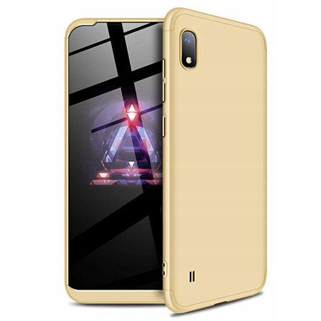 Etui na telefon Samsung Galaxy A10 - Slim MattE 360 - Złoty
