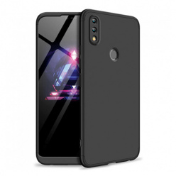 Etui na telefon Huawei Honor 8x - Slim MattE 360 - Czarny.