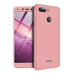 Etui na telefon Xiaomi Redmi 6 - Slim MattE 360 - Różowy.