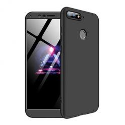 Etui na telefon Huawei Y6 2018 - Slim MattE 360 - Czarny.