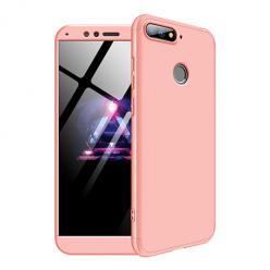 Etui na telefon Huawei Y6 2018 - Slim MattE 360 - Różowy.