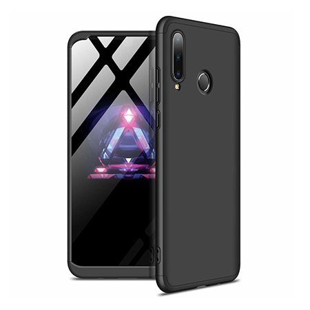 Etui na telefon Huawei P30 Lite - Slim MattE 360 - Czarny.