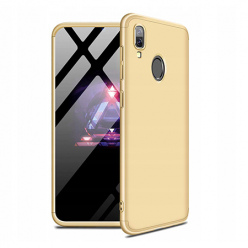 Etui na telefon Samsung Galaxy A40 - Slim MattE 360 - Złoty.