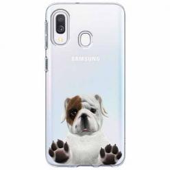 Etui na Samsung Galaxy A20e - Słodki szczeniaczek.
