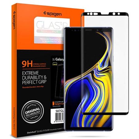 Samsung Galaxy Note 9 hartowane szkło Spigen Glass.TR - Czarny.