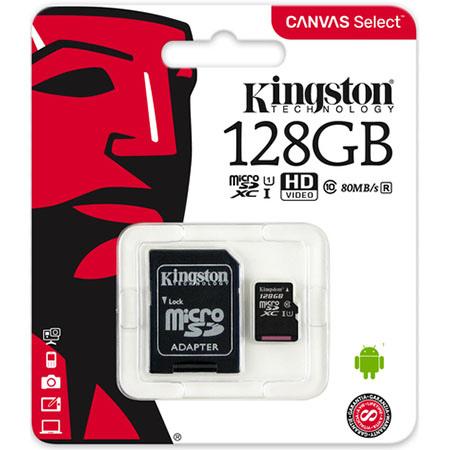 Karta pamięci Micro SD Kingston 128 GB