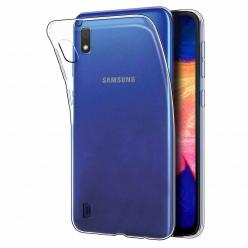 Etui na Galaxy A10 silikonowe crystal case - bezbarwne.