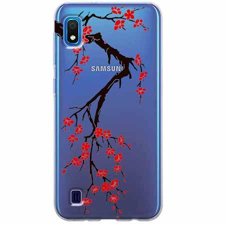 Etui na Samsung Galaxy A10 - Krzew kwitnącej wiśni.
