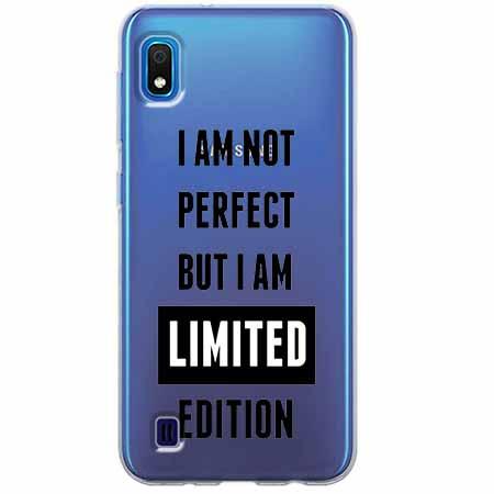 Etui na Samsung Galaxy A10 - I Am not perfect…
