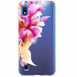Etui na Samsung Galaxy A10 - Bajeczny kwiat.
