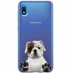 Etui na Samsung Galaxy A10 - Słodki szczeniaczek.