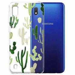 Etui na Samsung Galaxy A10 - Kaktusowy ogród.