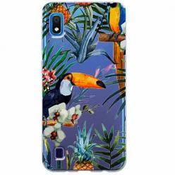 Etui na Samsung Galaxy A10 - Egzotyczne tukany.
